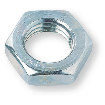 Hexagon Nuts DIN439-2 steel 04 M8 zinc-plated